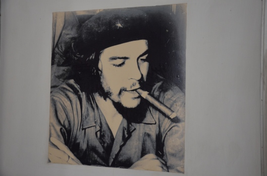 Che Guevara photo Revolution Museum Havana Cuba