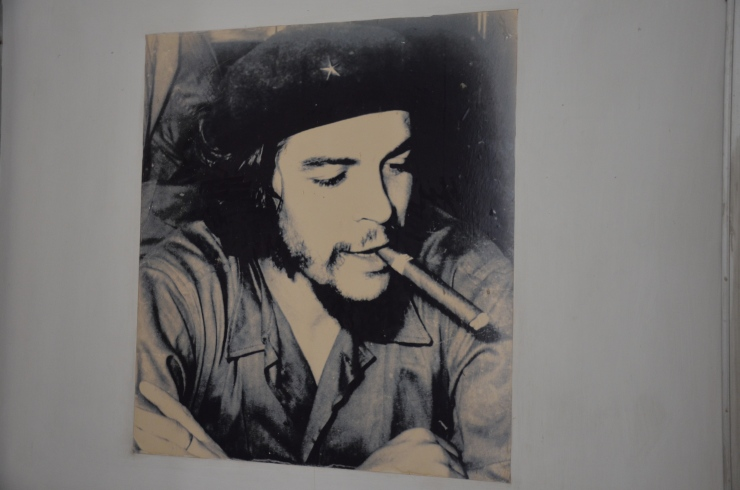 Che Guevara photo Revolution Museum Havana Cuba