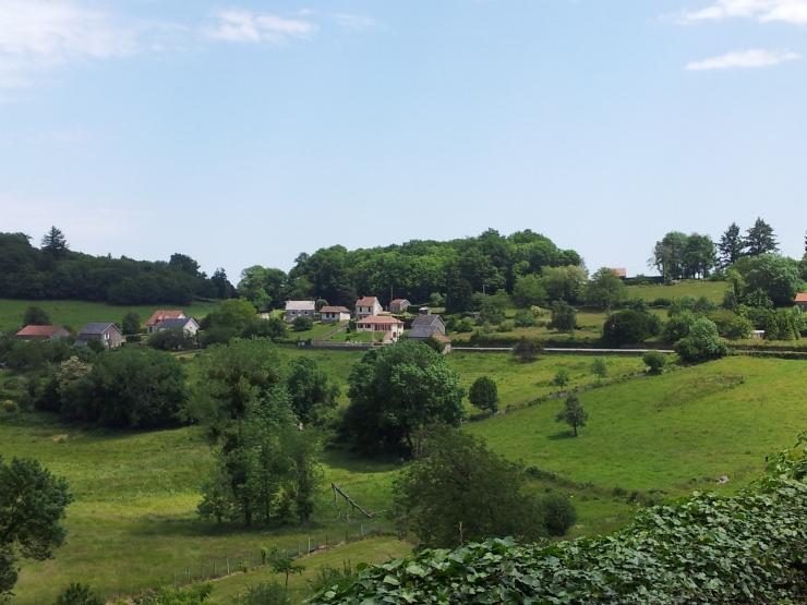 France nature hills scenery landscape La Limousin