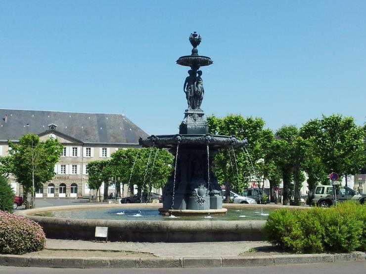 Gueret Fountain