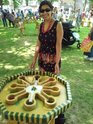 outdoor games docklands festival