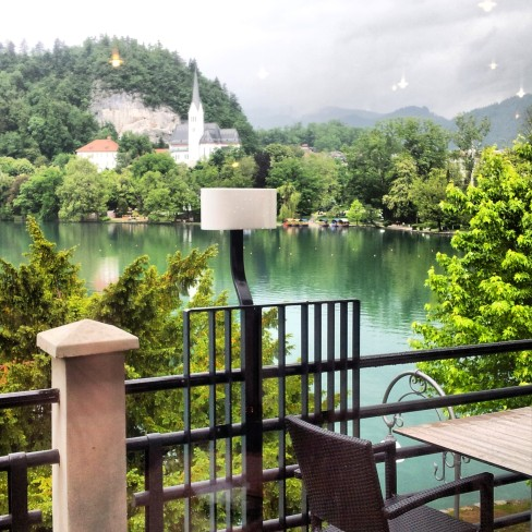 Bled Park Hotel View