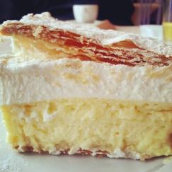 Kremsnita cake Slovenia