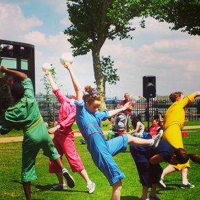 dance performance Greenwich festival