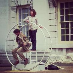 Greenwich Docklands International Festival dance performance