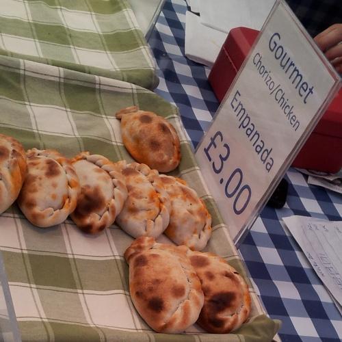 empanadas Greenwich market street food