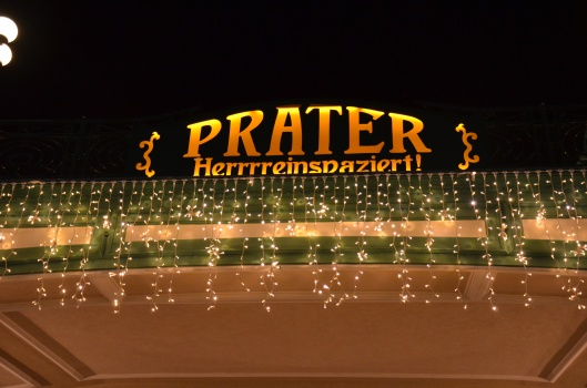 Prater Vienna Entrance