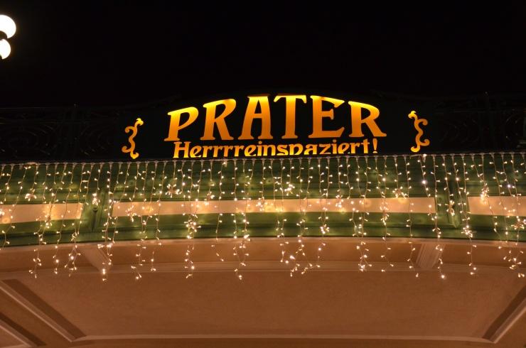 Prater Vienna Entrance