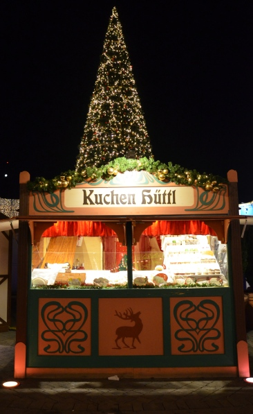 food drink stall Prater Park Vienna