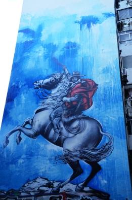 Blu street artist Buenos Aires
