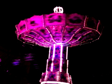 funfair wheel Vienna Prater