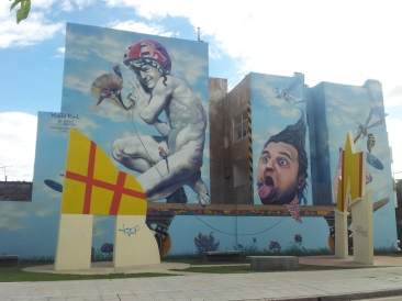 Martin Ron Blu new mural Buenos Aires