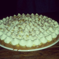 banoffee pie big red pizza