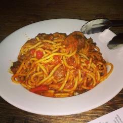spaghetti menu big red pizza