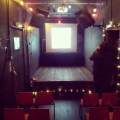private hire events cinema room big red pizza