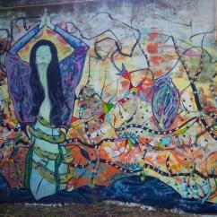 colourful street art Argentina