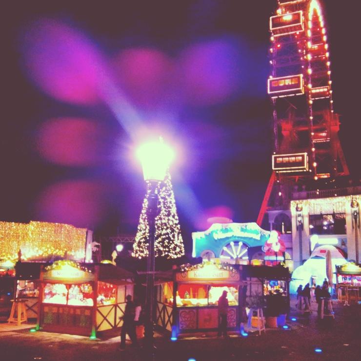 Christmas activities Vienna ferris wheel