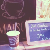 hot chocolate Comptoir Mathilde Brussels