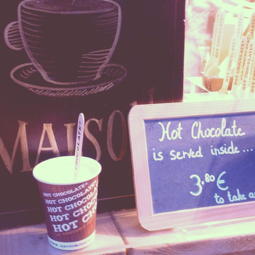 hot chocolate Comptoir Mathilde Brussels