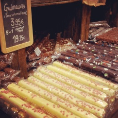 white chocolate Comptoir Mathilde Brussels