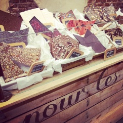 chocolate selection Comptoir Mathilde