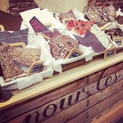 chocolate selection Comptoir Mathilde