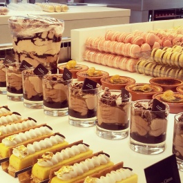 Pierre Marcolini patisserie desserts Brussels