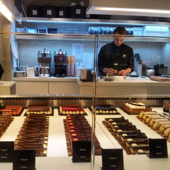 Pierre Marcolini cafe Brussels