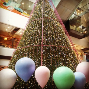 shopping mall Christmas tree Singapore