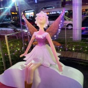 Christmas angel decoration Orchard Road