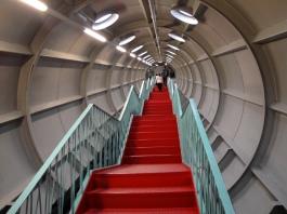 interior Atomium Brussels