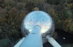 view from top of Atomium