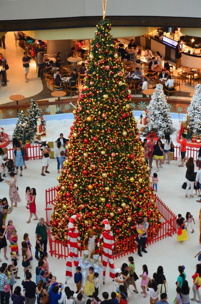 Christmas celebration tree shopping mall Singapore