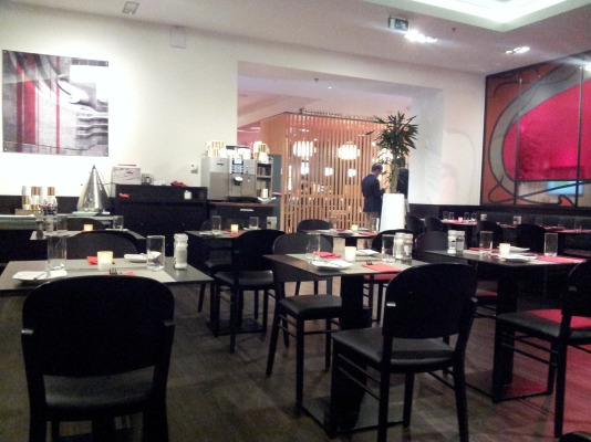 hotel restaurant Park Inn Brussels