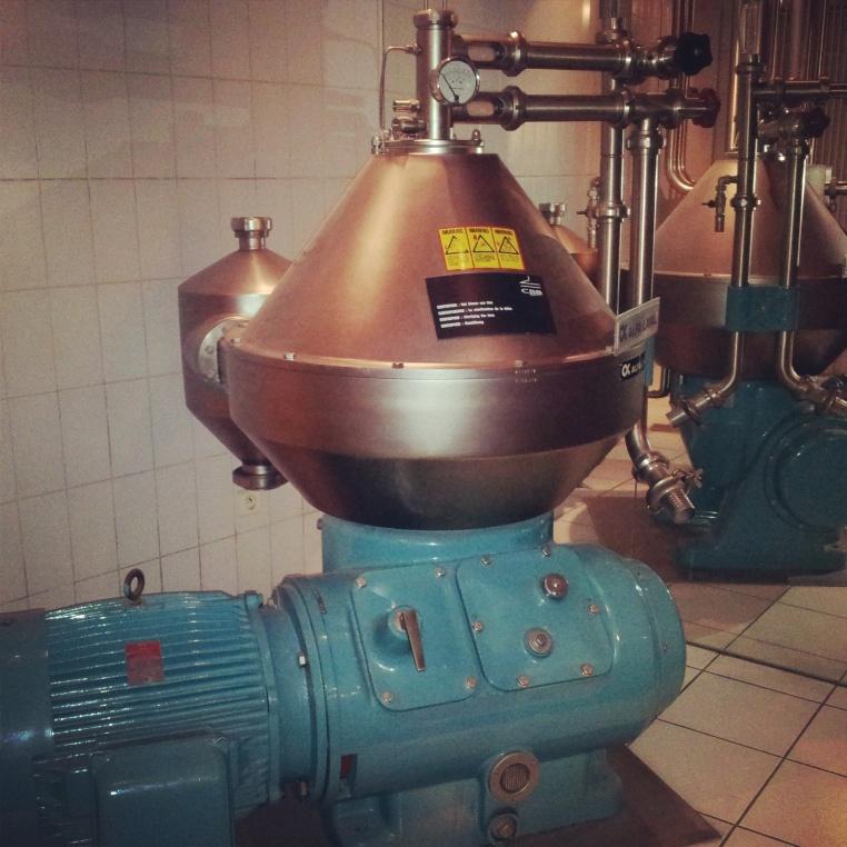Belgian beer museum machinery