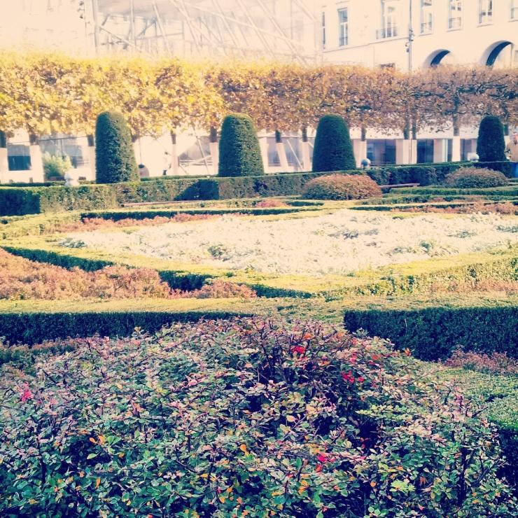 landscaped gardens Brussels