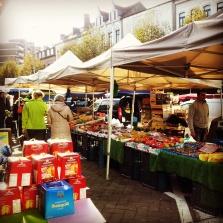 pannetone in Brussels food market