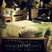 coffee Caffeat8 Place Jourdan Market Brussels