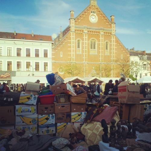 Gare du Midi Sunday Market Brussels