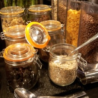 cereal buffet breakfast Park Inn Bruxelles
