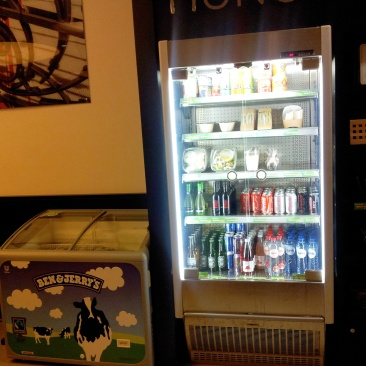 vending machine Ben and Jerrys Park Inn Brussels