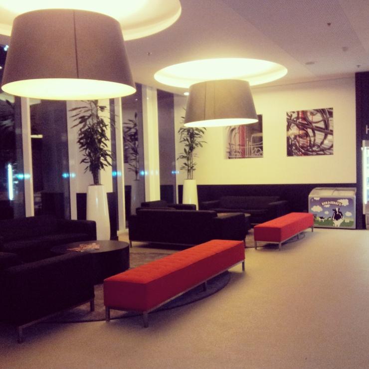 Park Inn Midi Bruxelles hotel lobby