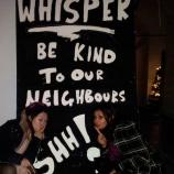 whisper sign underground film club