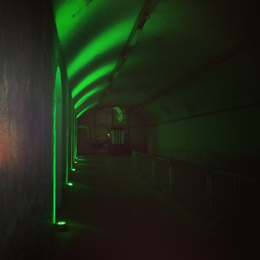 Bulmers pop up underground cinema movie theatre London