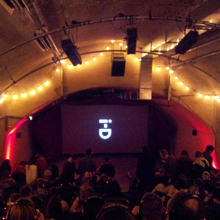 pop up underground cinema experience London