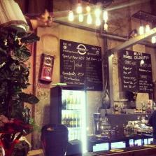 bar Vaults underground pop up cinema Waterloo London
