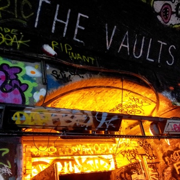 The Vaults graffiti tunnel Waterloo
