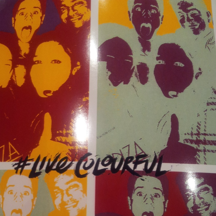 #livecolourful photo booth pop up underground cinema waterloo
