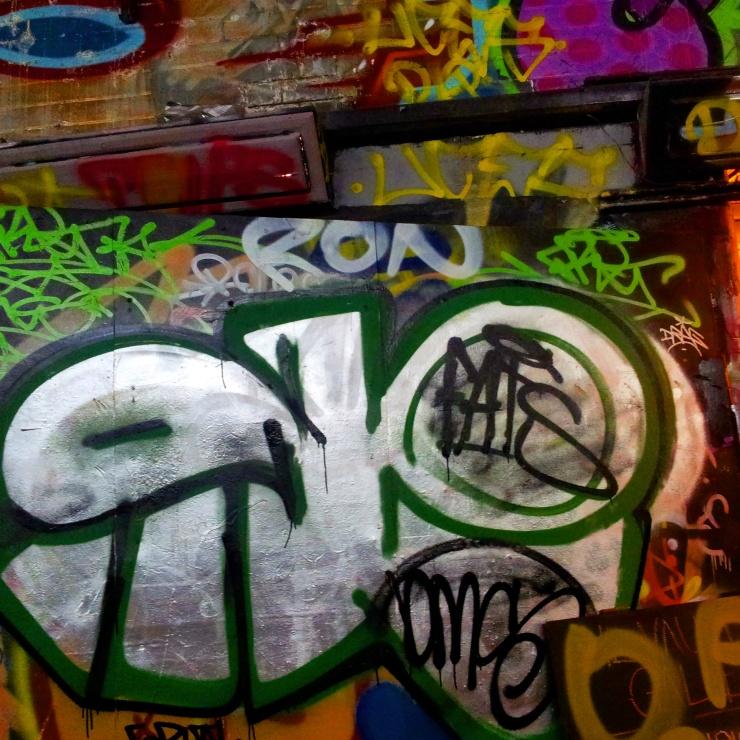graffiti tunnel Waterloo