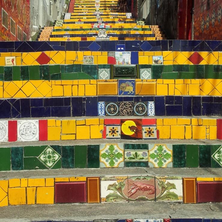 Selaron Steps Rio de Janeiro